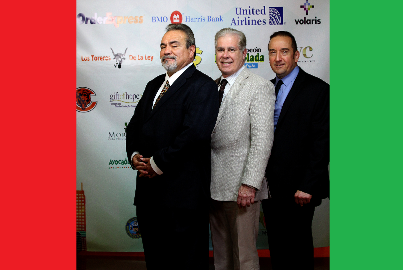 Geraci, Arreola and Hernandez at el Grito